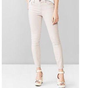 Gap Pale Pink skinny Jeans